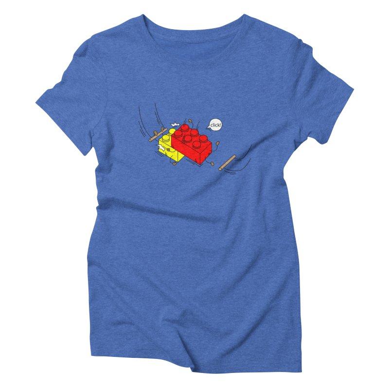 Lego Click! Women's Triblend T-shirt by Shop Yildiray Atas