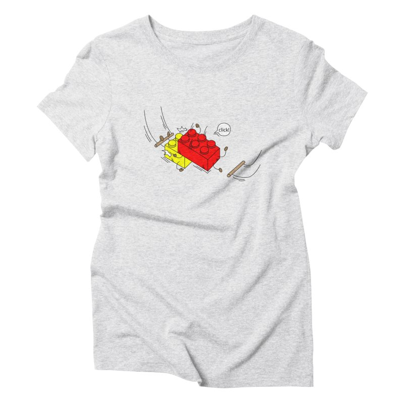 Lego Click! Women's Triblend T-Shirt by YA! Store