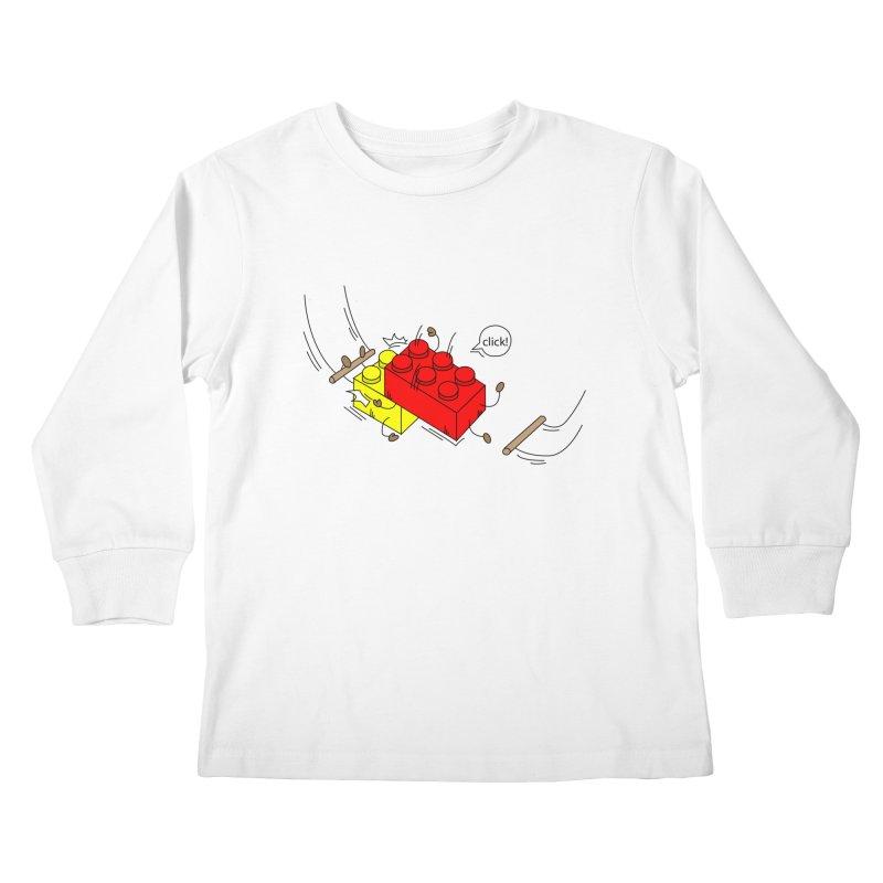Lego Click! Kids Longsleeve T-Shirt by YA! Store
