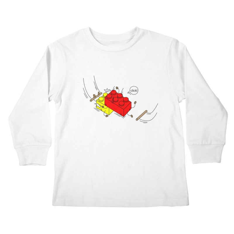 Lego Click! Kids Longsleeve T-Shirt by Shop Yildiray Atas