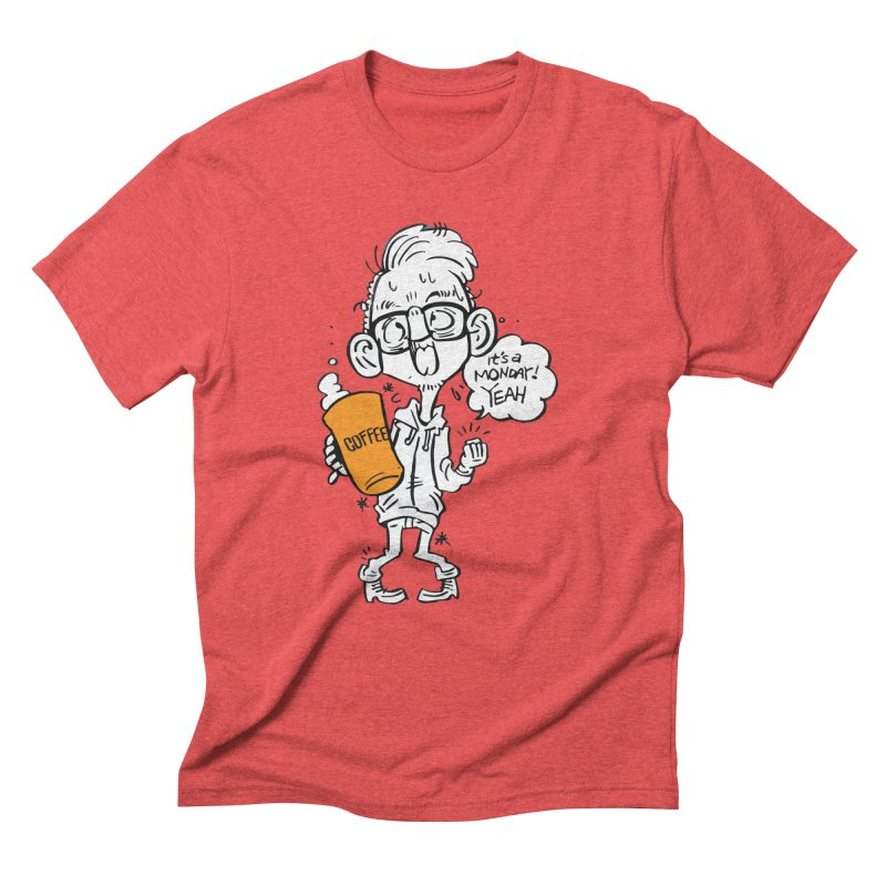 Drunk Monday Men's Triblend T-Shirt by YA! Store