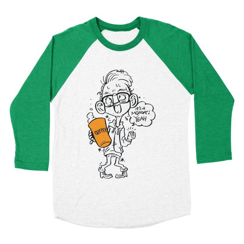 Drunk Monday Men's Baseball Triblend Longsleeve T-Shirt by YA! Store