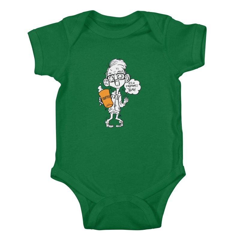 Drunk Monday Kids Baby Bodysuit by YA! Store