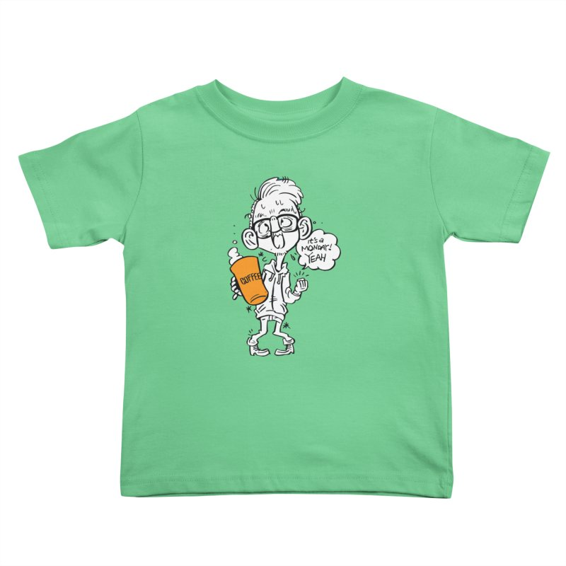 Drunk Monday Kids Toddler T-Shirt by YA! Store
