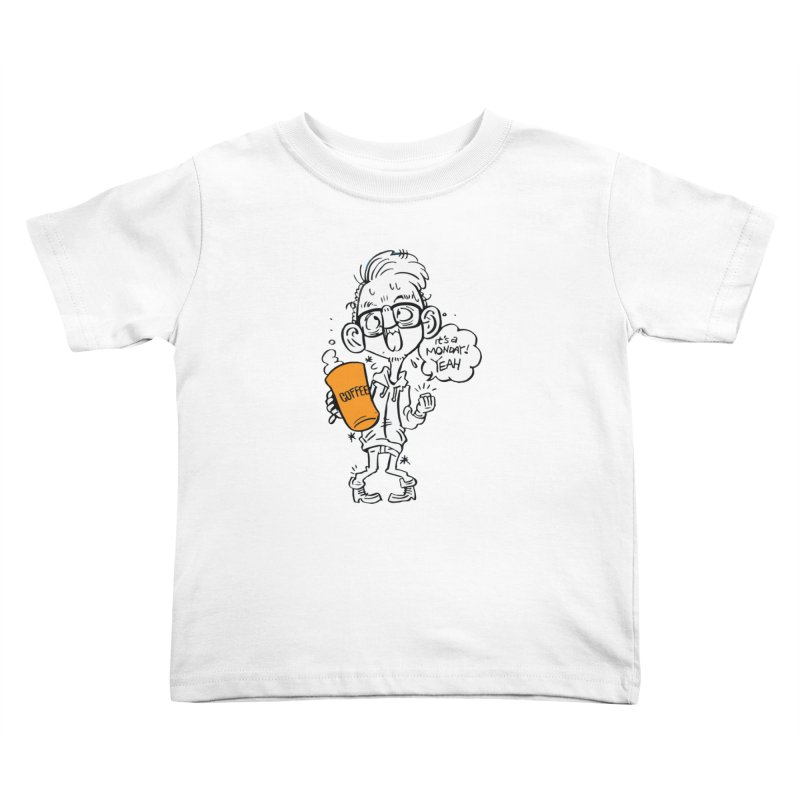 Drunk Monday Kids Toddler T-Shirt by Shop Yildiray Atas