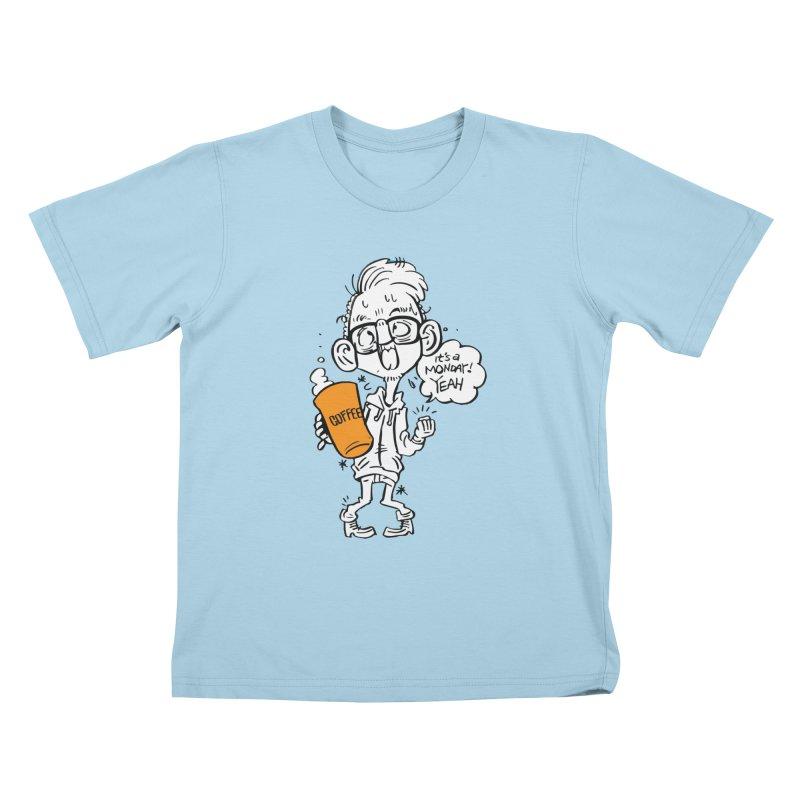 Drunk Monday Kids T-Shirt by YA! Store