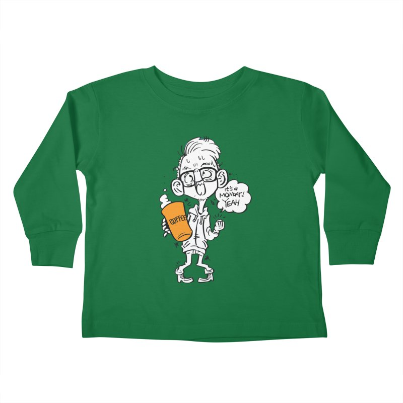 Drunk Monday Kids Toddler Longsleeve T-Shirt by YA! Store