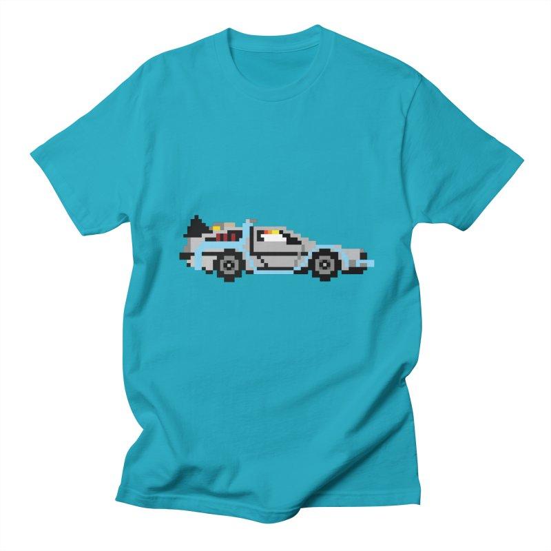 Back To The 8 Bit Men's Regular T-Shirt by YA! Store