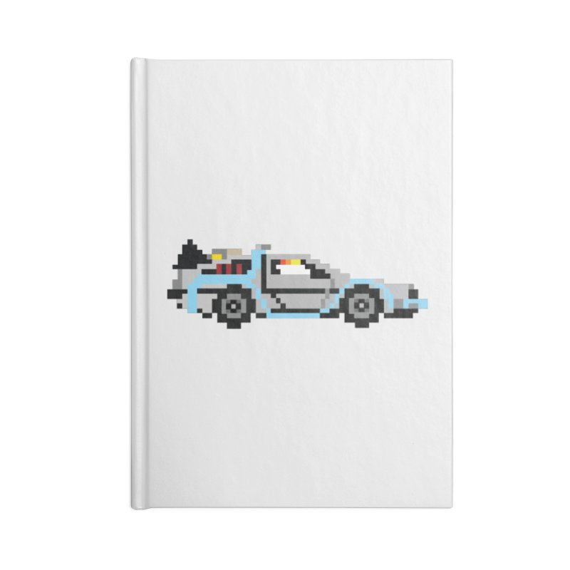 Back To The 8 Bit Accessories Notebook by YA! Store