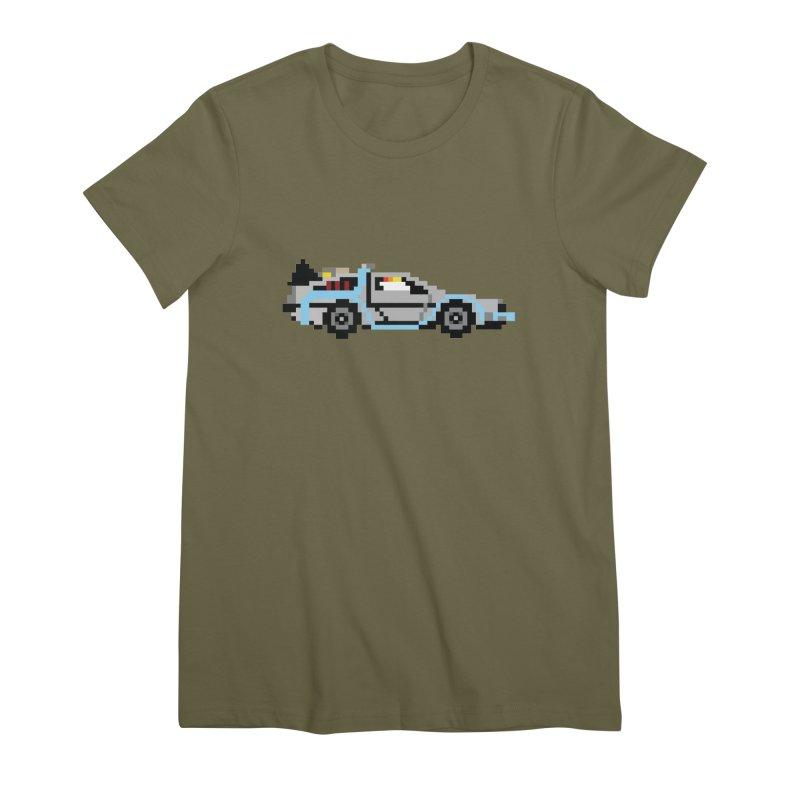 Back To The 8 Bit Women's Premium T-Shirt by YA! Store