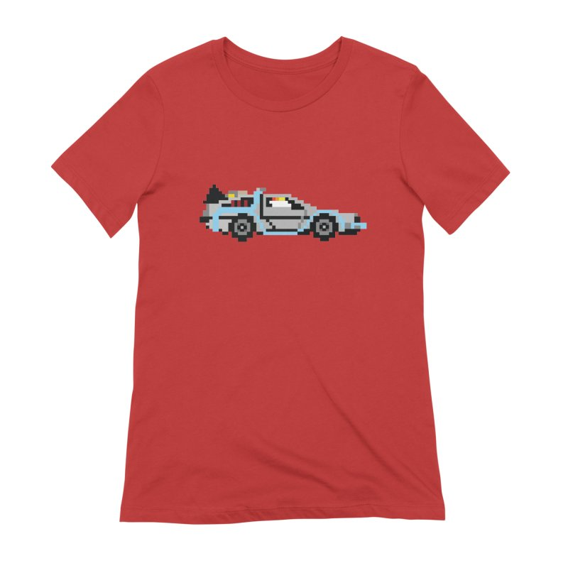 Back To The 8 Bit Women's Extra Soft T-Shirt by YA! Store