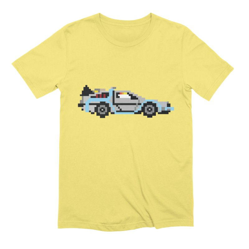 Back To The 8 Bit Men's Extra Soft T-Shirt by YA! Store