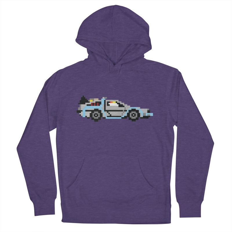 Back To The 8 Bit Men's French Terry Pullover Hoody by YA! Store
