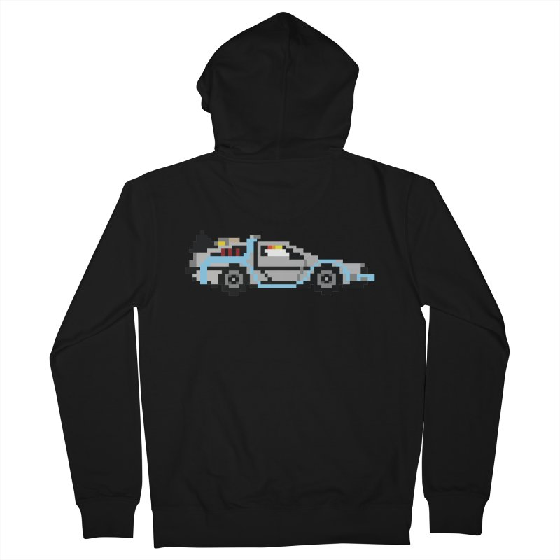 Back To The 8 Bit Women's French Terry Zip-Up Hoody by YA! Store