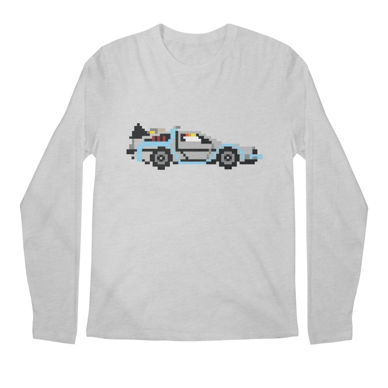 Back To The 8 Bit Men's Regular Longsleeve T-Shirt by YA! Store
