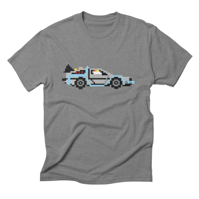 Back To The 8 Bit Men's Triblend T-Shirt by YA! Store