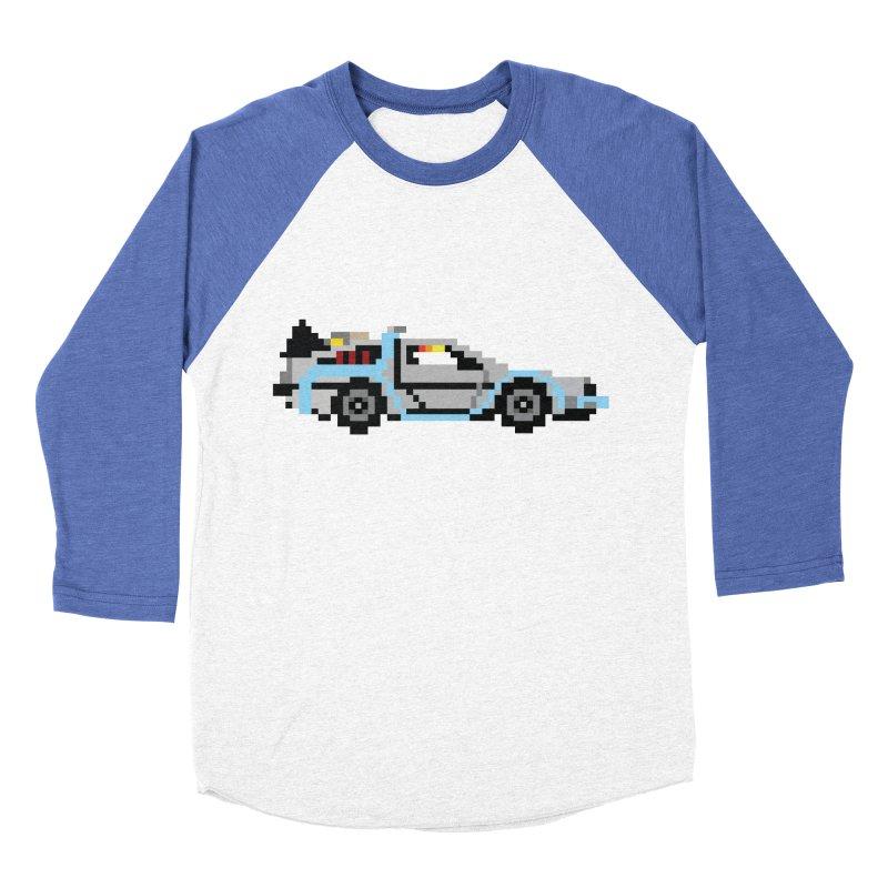 Back To The 8 Bit Men's Baseball Triblend Longsleeve T-Shirt by YA! Store