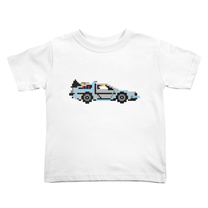 Back To The 8 Bit Kids Toddler T-Shirt by YA! Store