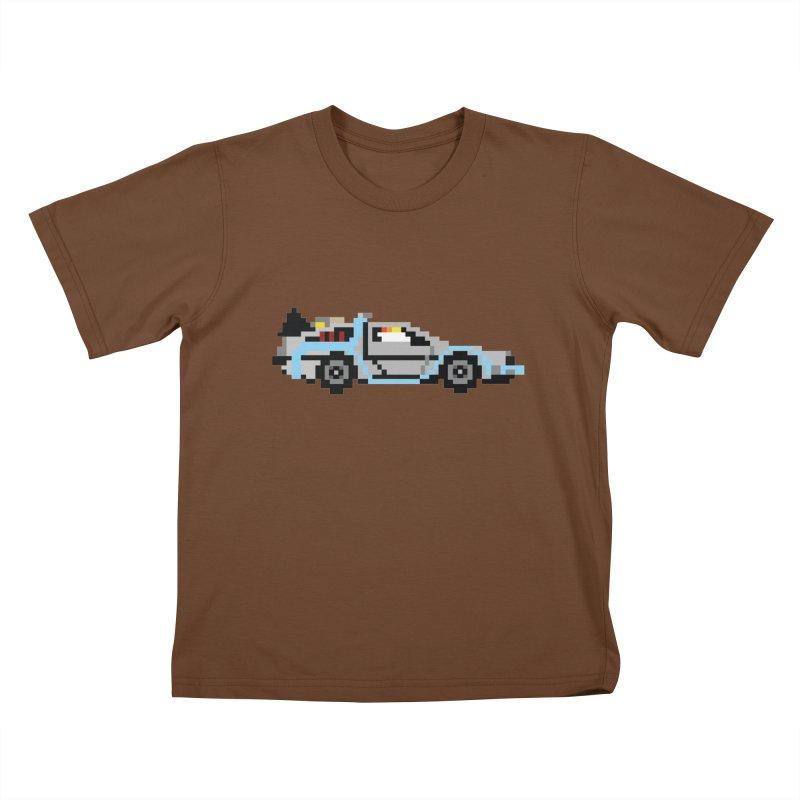 Back To The 8 Bit Kids T-Shirt by YA! Store