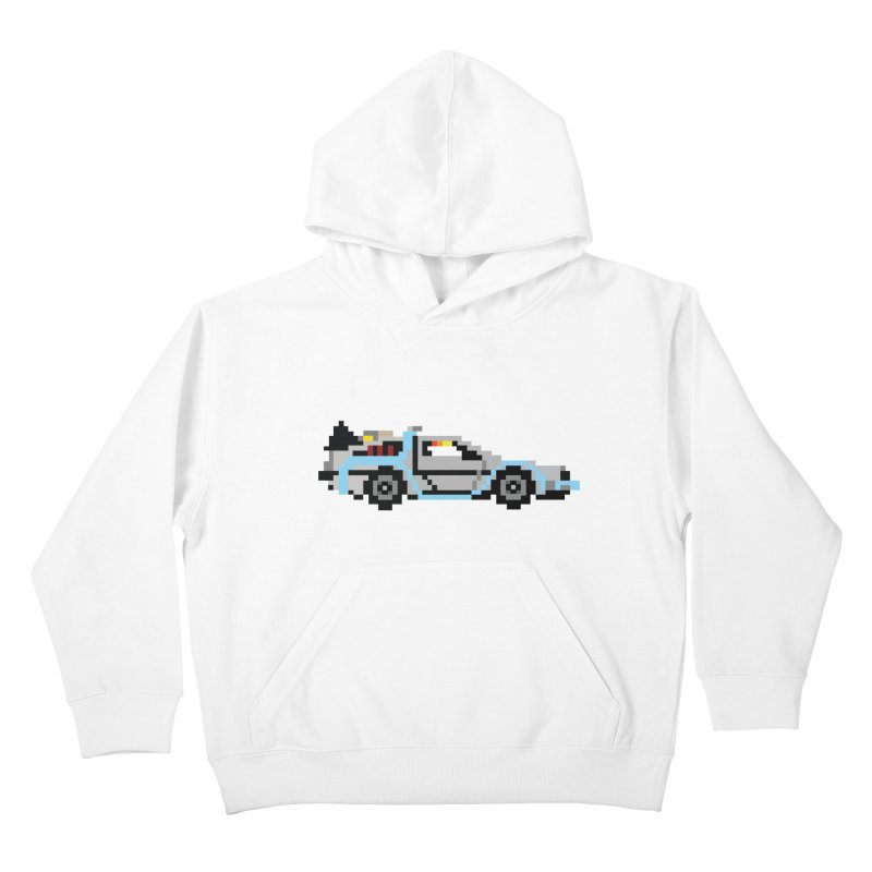 Back To The 8 Bit Kids Pullover Hoody by YA! Store