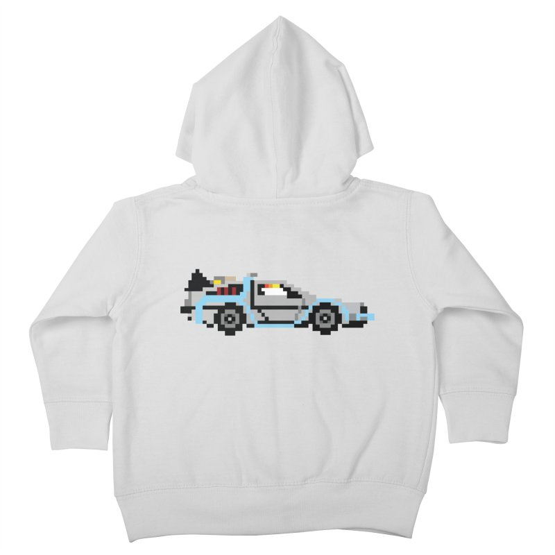 Back To The 8 Bit Kids Toddler Zip-Up Hoody by YA! Store