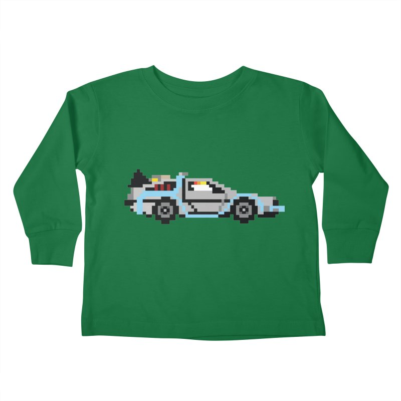 Back To The 8 Bit Kids Toddler Longsleeve T-Shirt by YA! Store
