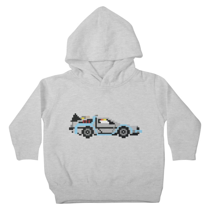Back To The 8 Bit Kids Toddler Pullover Hoody by YA! Store