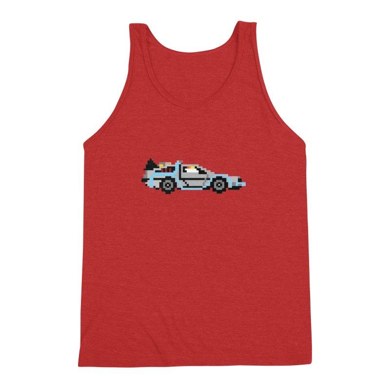 Back To The 8 Bit Men's Triblend Tank by YA! Store