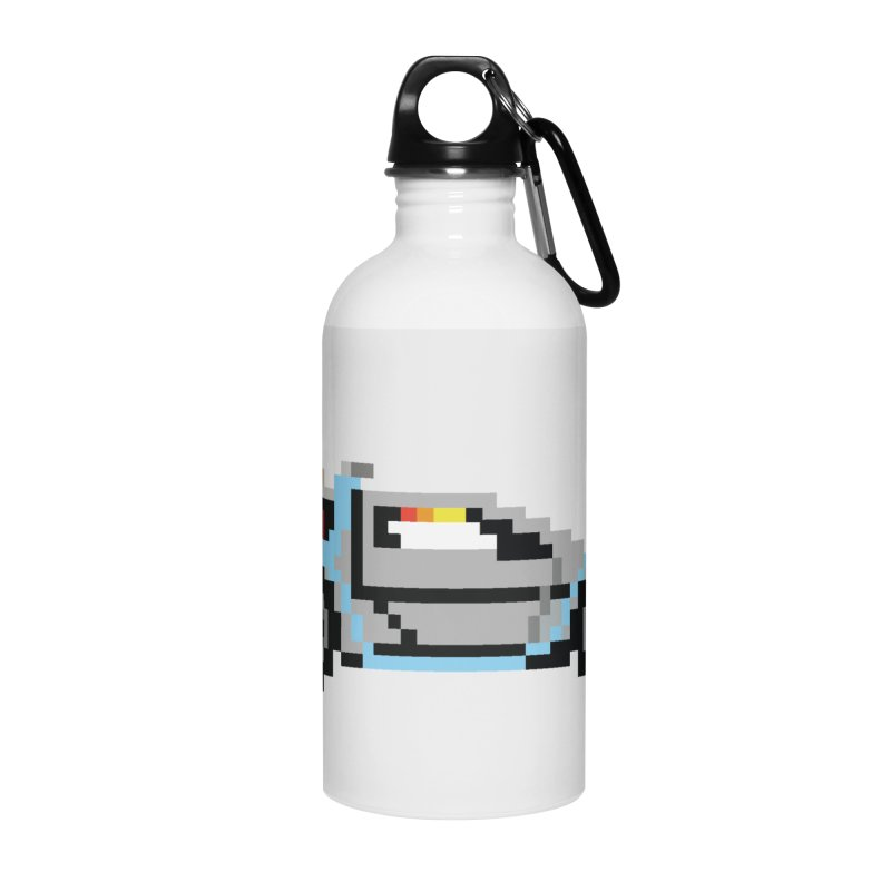 Back To The 8 Bit Accessories Water Bottle by YA! Store