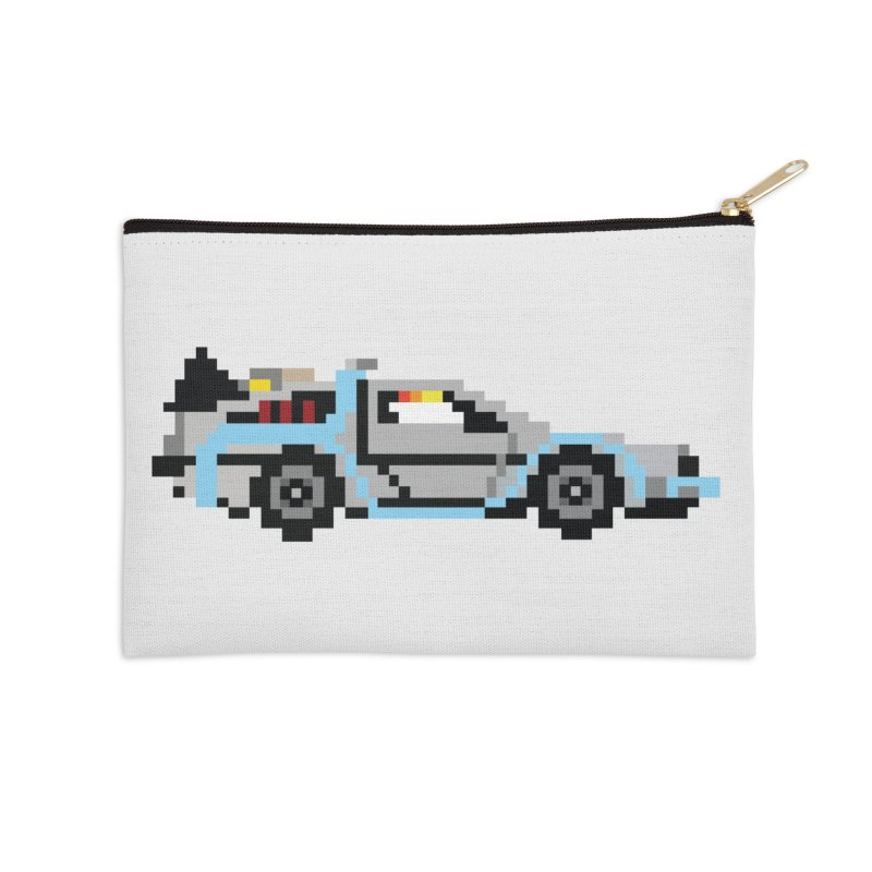 Back To The 8 Bit Accessories Zip Pouch by YA! Store