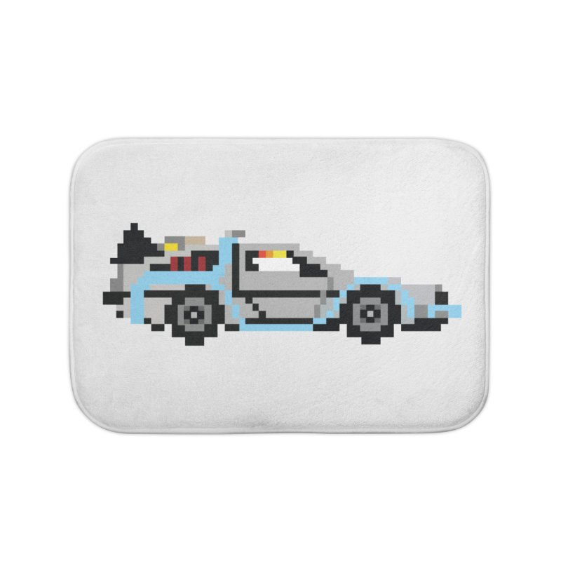 Back To The 8 Bit Home Bath Mat by YA! Store