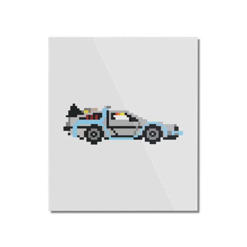 Back To The 8 Bit Home Mounted Acrylic Print by YA! Store