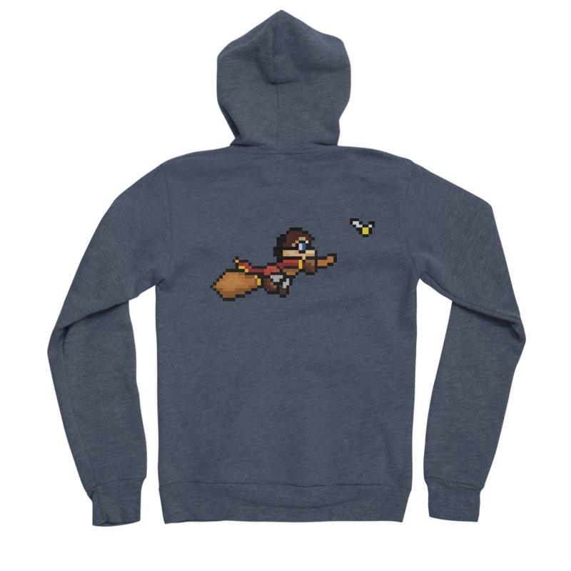 Quidditch Women's Sponge Fleece Zip-Up Hoody by YA! Store