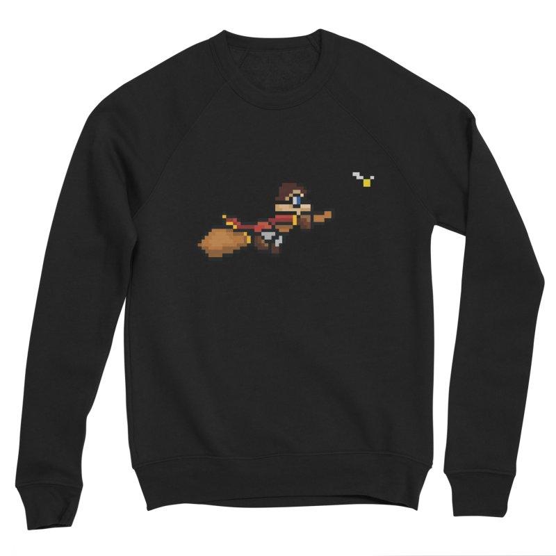 Quidditch Men's Sponge Fleece Sweatshirt by YA! Store