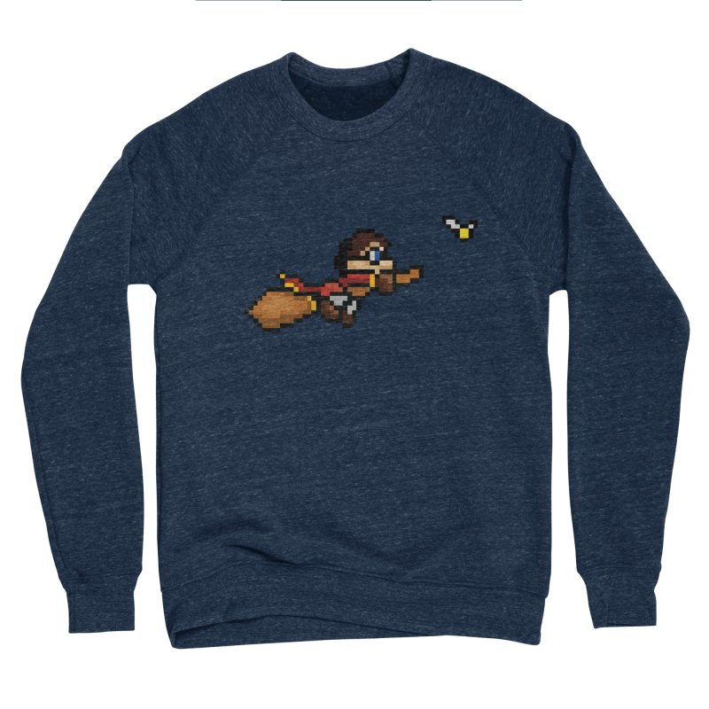 Quidditch Men's Sponge Fleece Sweatshirt by YA! Store