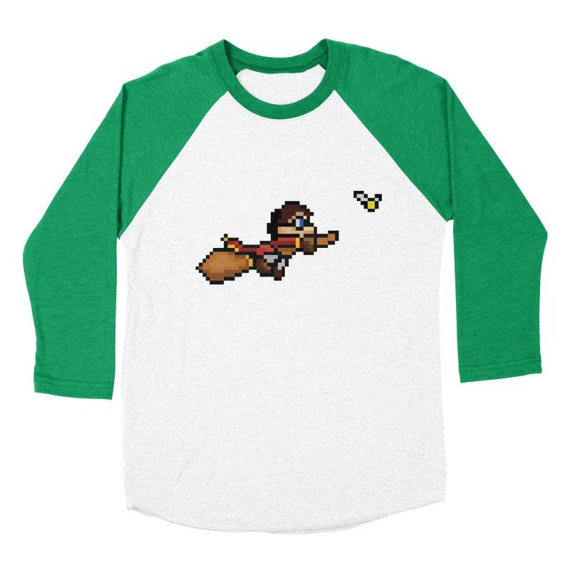 Quidditch Men's Baseball Triblend Longsleeve T-Shirt by YA! Store