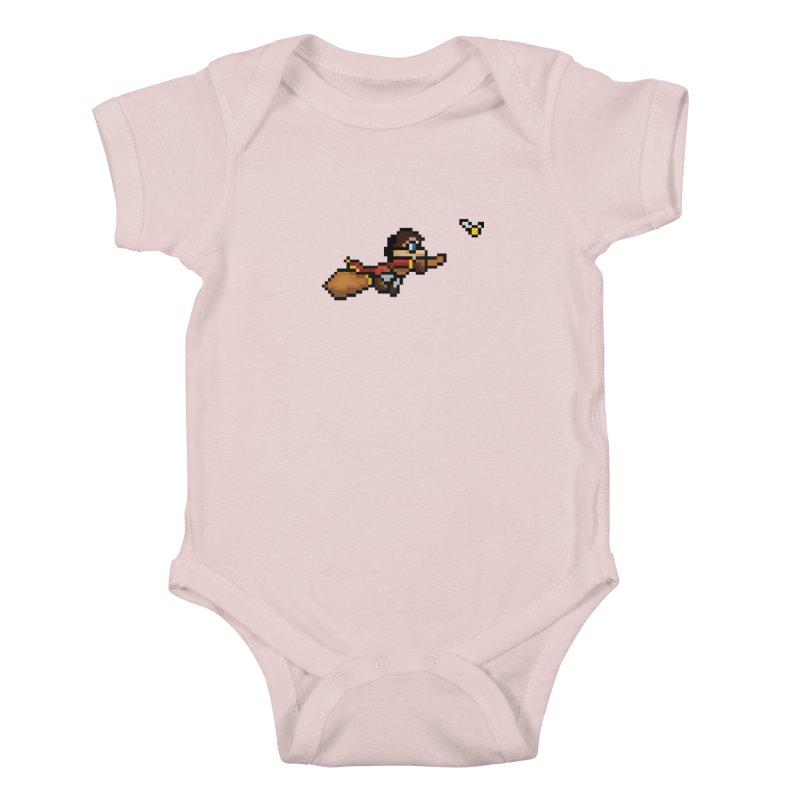 Quidditch Kids Baby Bodysuit by YA! Store
