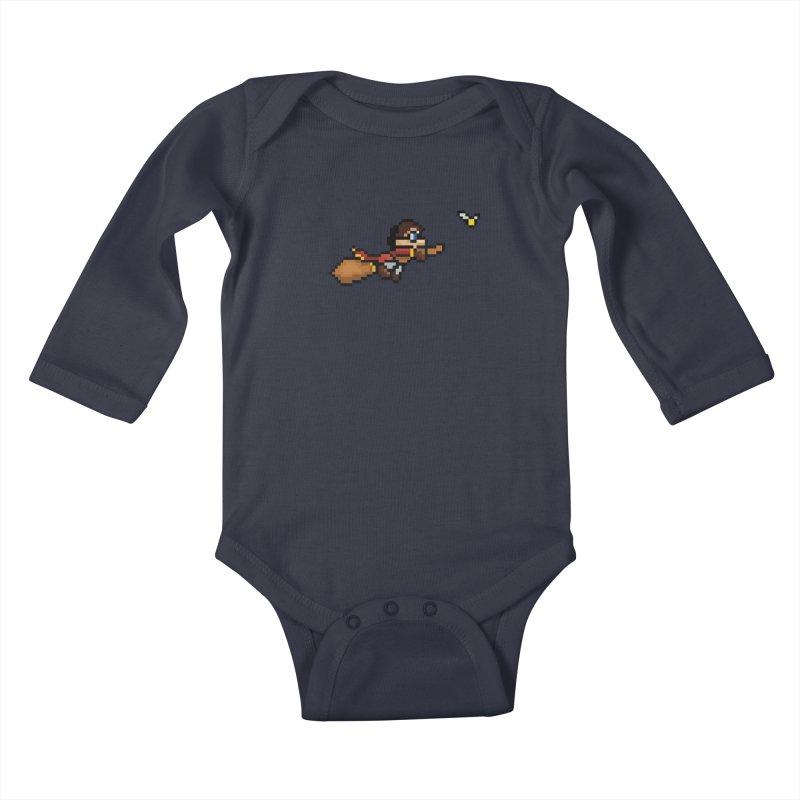 Quidditch Kids Baby Longsleeve Bodysuit by YA! Store