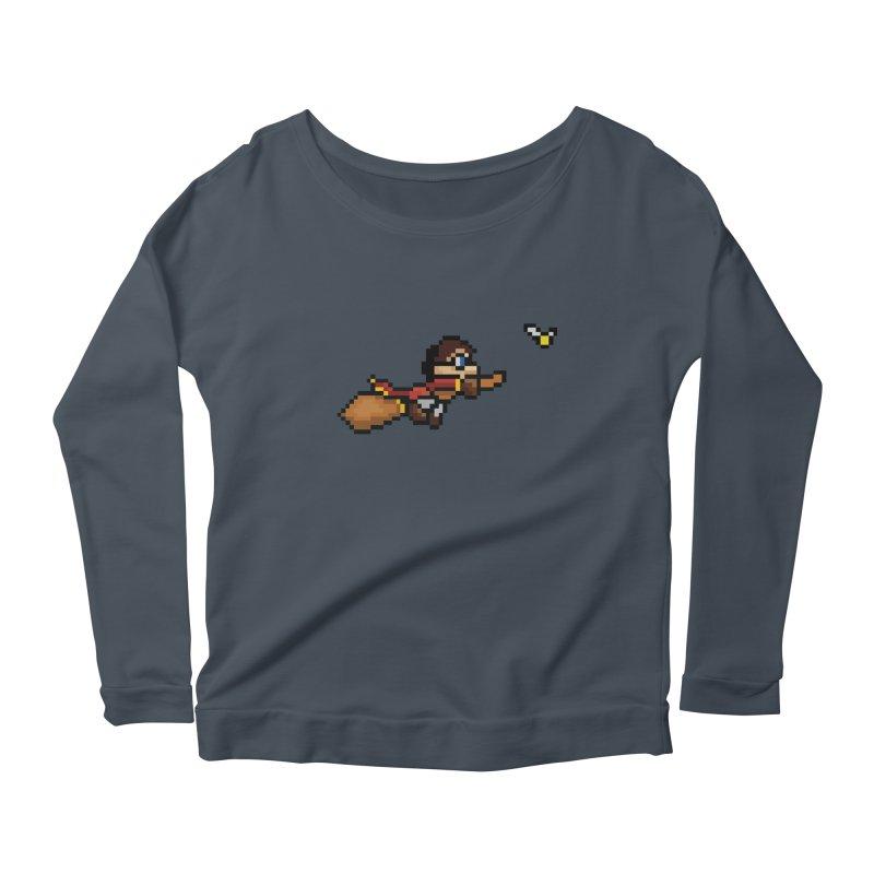 Quidditch Women's Scoop Neck Longsleeve T-Shirt by YA! Store