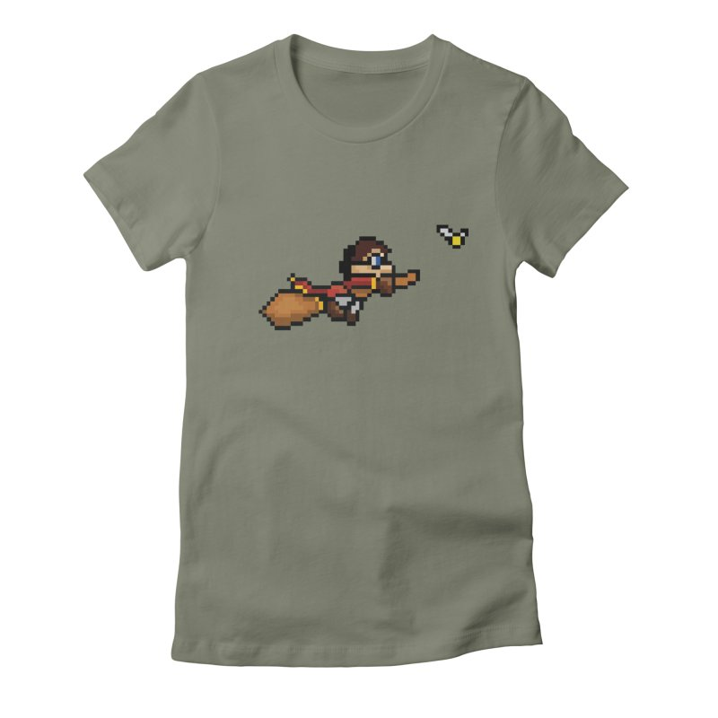 Quidditch Women's Fitted T-Shirt by YA! Store