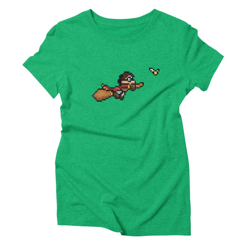 Quidditch Women's Triblend T-Shirt by YA! Store