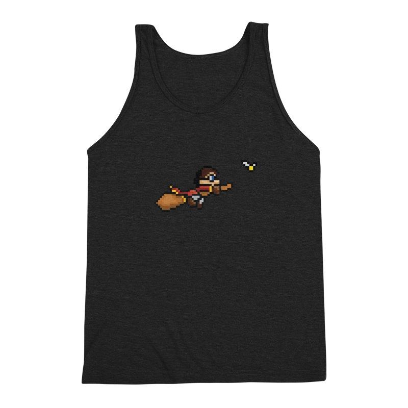 Quidditch Men's Triblend Tank by YA! Store