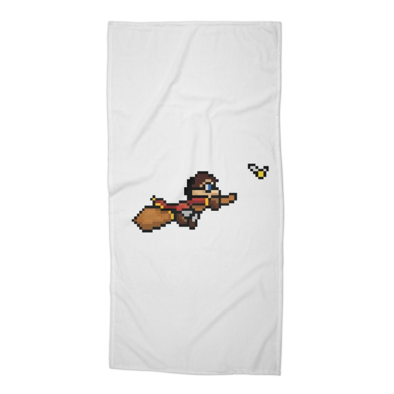 Quidditch Accessories Beach Towel by YA! Store
