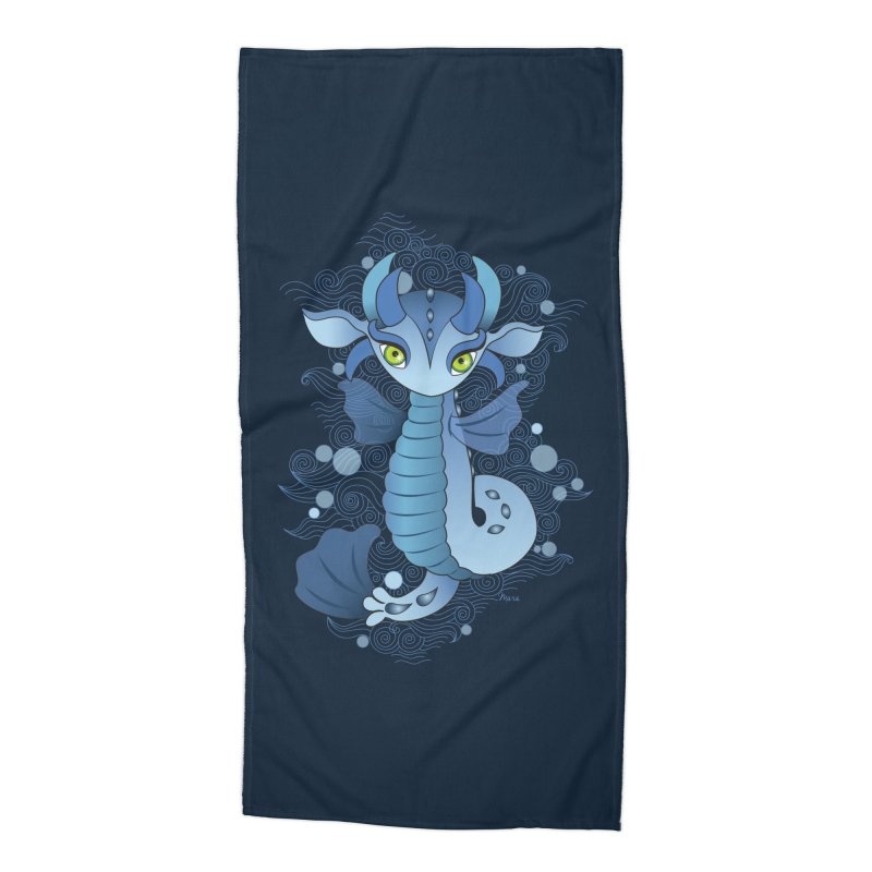 Water Dragon Accessories Beach Towel by yinyangwest's Artist Shop