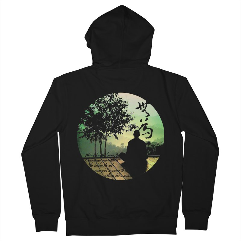 Wei Wu Wei Women's Zip-Up Hoody by yinyangwest's Artist Shop