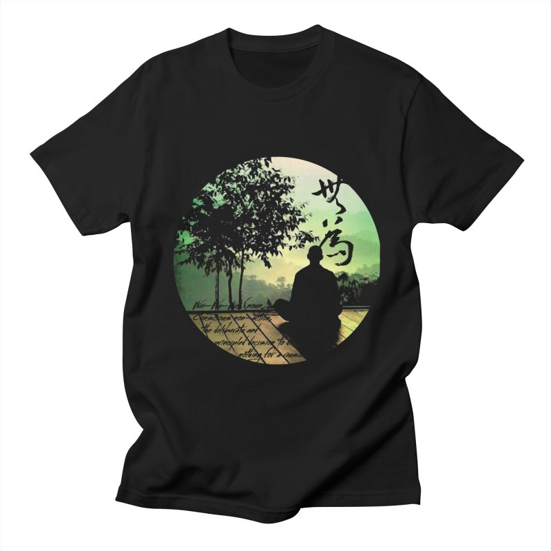 Wei Wu Wei Men's T-shirt by yinyangwest's Artist Shop