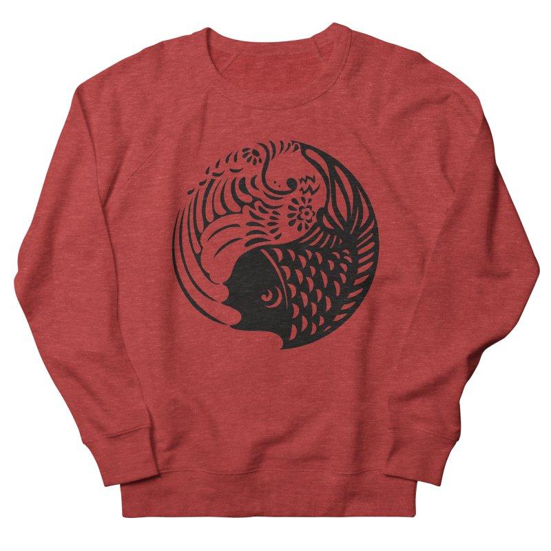 Yin Yang West Logo Black Men's Sweatshirt by yinyangwest's Artist Shop