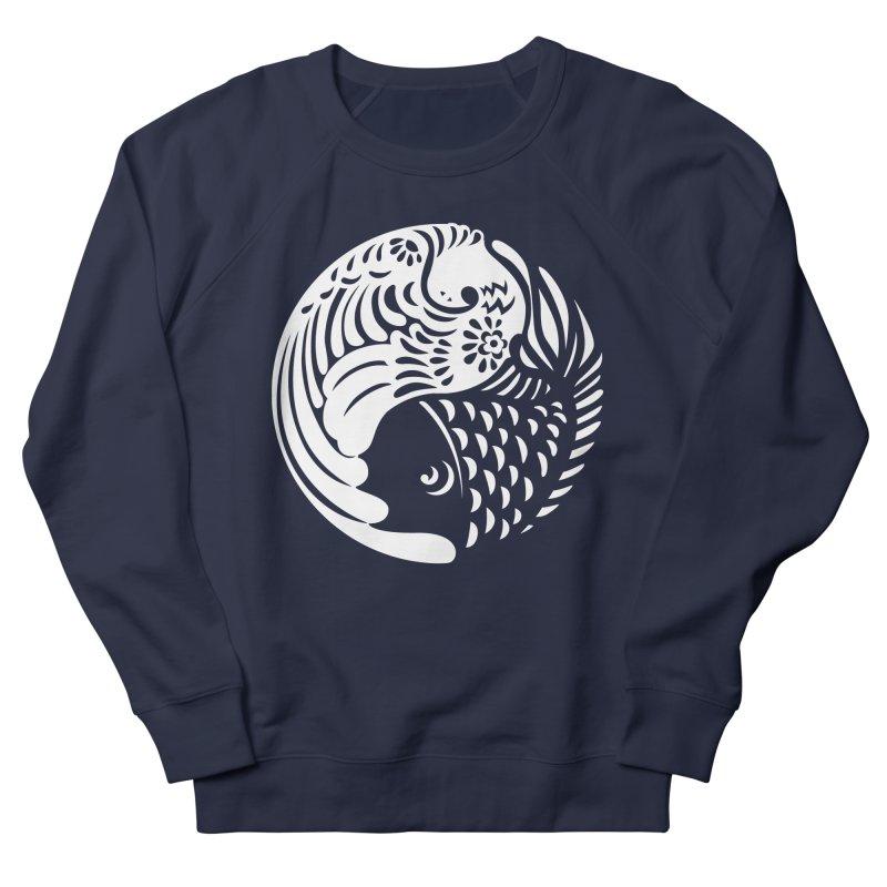 Yin Yang West Logo White Men's Sweatshirt by yinyangwest's Artist Shop