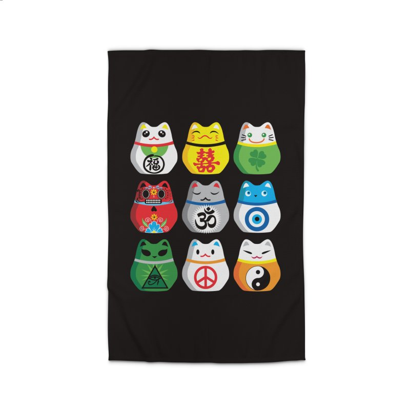 Maneki Nekos Home Rug by yinyangwest's Artist Shop