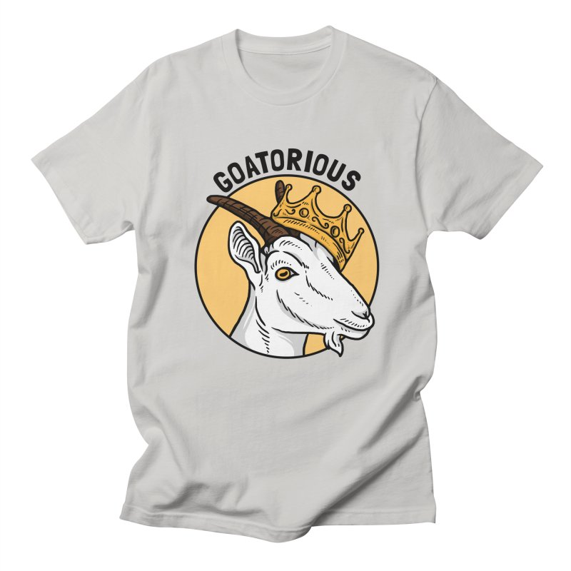 Goat-orious Men's T-Shirt by Yipptee